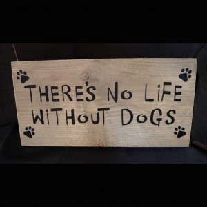 Plank 'There's no life without dogs'