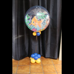Bubble Vis, Helium ballon