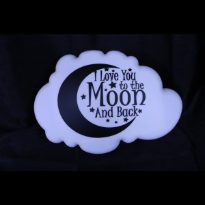 Lamp 'to the moon and back' ALLERLAATSTE