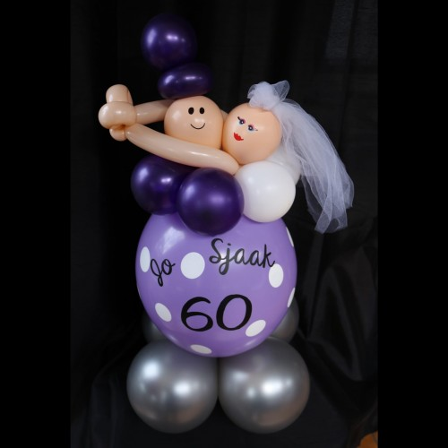 Magnifiek Tafel stukje 60 jaar getrouwd Luchtig Kado @JO78